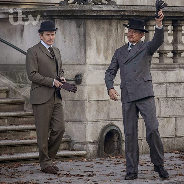 Martin Clunes starring as Arthur Conan Doyle in Arthur & George