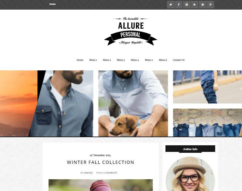 Allure-sidebar-premium-version-responsive-blogger-template-free-download