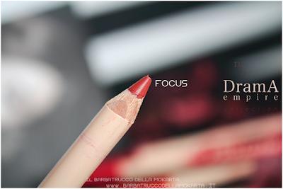 FOCUS recensione Bio Pastello Labbra drama empire collection neve cosmetics