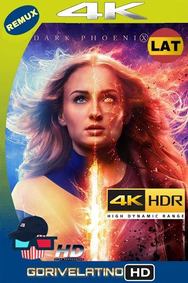 X-Men: Dark Phoenix (2019) REMUX 4K HDR Latino-Ingles MKV