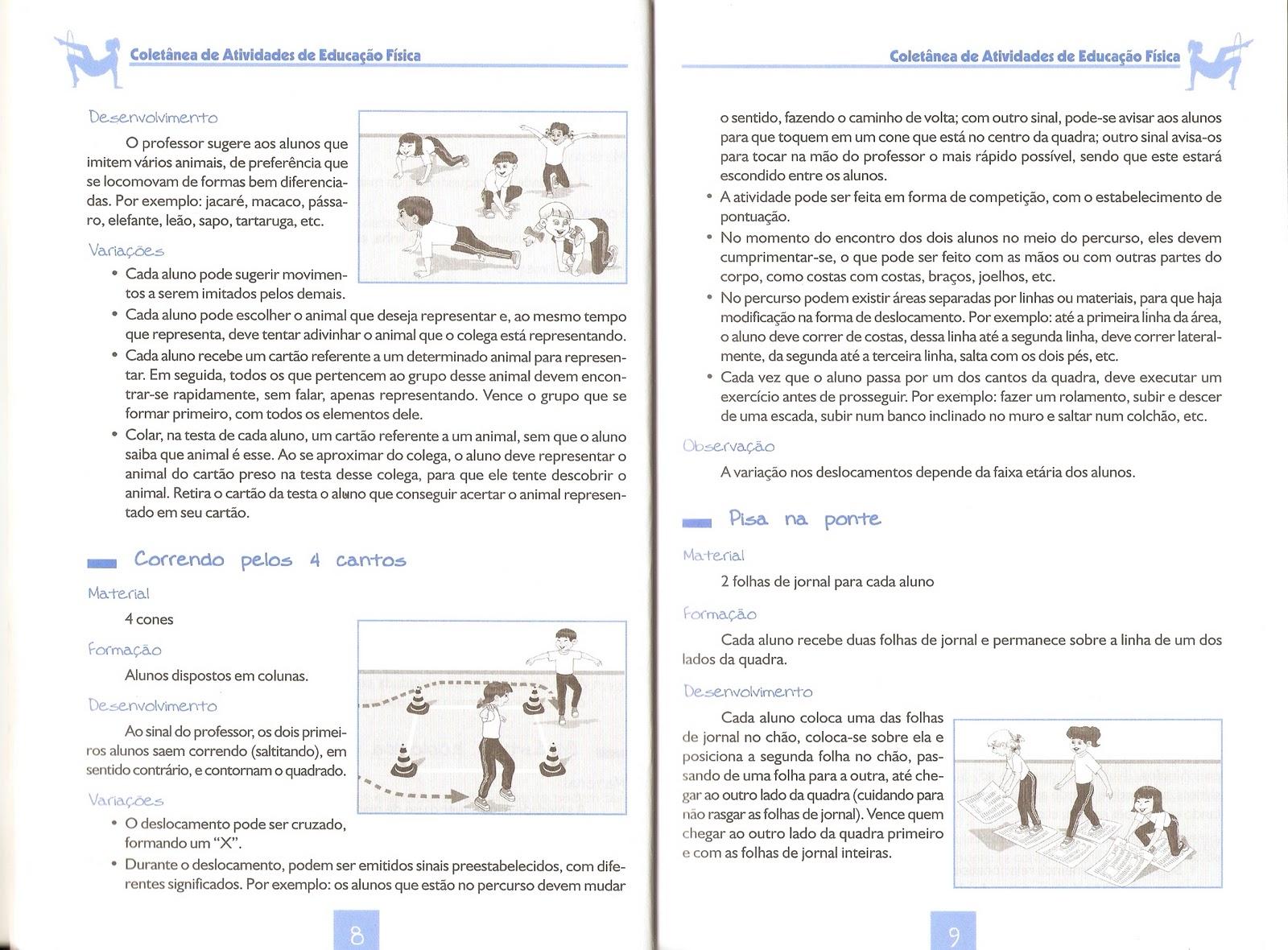 COLETÂNEA DE ATIVIDADES DE EDUCAÇÃO FÍSICA PARA O ENSINO MÉDIO E ENSINO  FUNDAMENTAL - GINÁSTICA VOLUME I E II e085afed2f71a