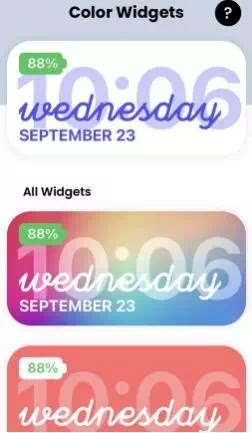 Cara Mengubah Warna Widget di iPhone (iOS 14)-2