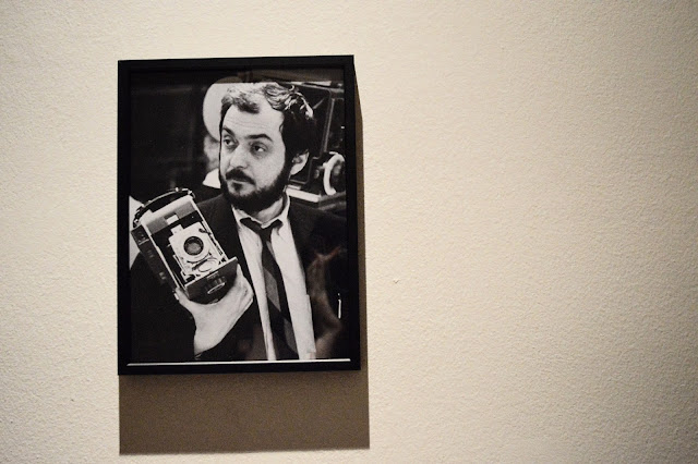 Portrait of Stanley Kubrick with camera