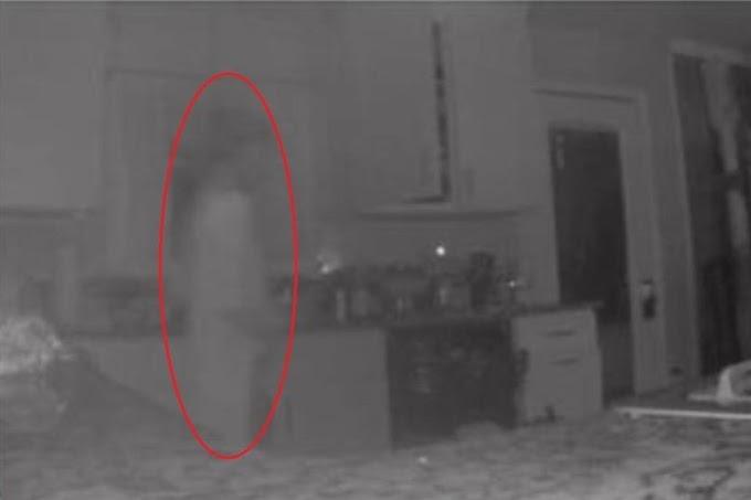 Ibu terkejut CCTV rakam kelibat hantu anak lelaki di dapur