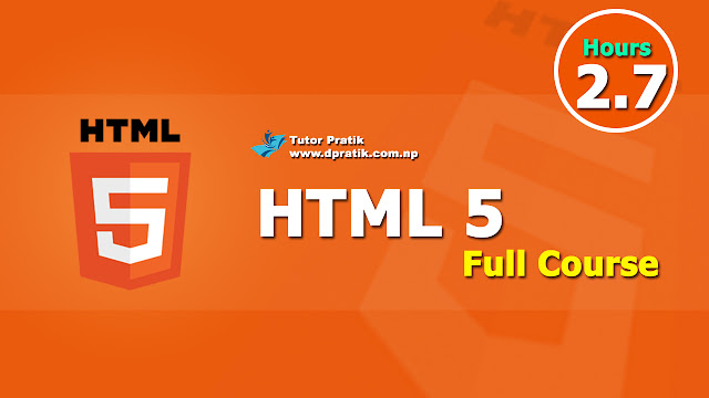 Learn Full HTML5 Course Step By Step Easy Tutorial