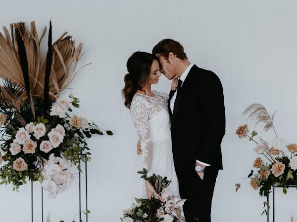 ➳ TIMELESS BOHO ELEGANCE | ANCORA STYLED WEDDING CREATIVE SHOOT {TWEED COAST}