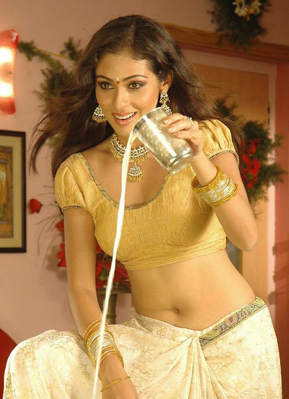 Sexy actress hot navel