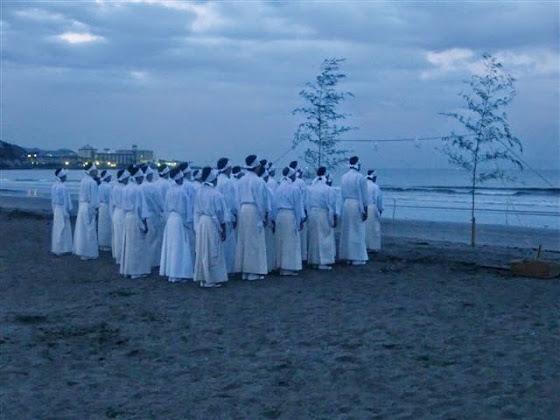 鶴岡八幡宮浜降式