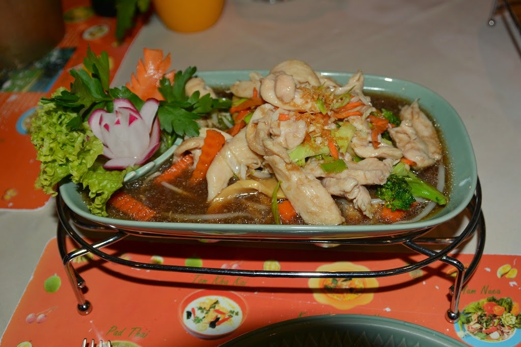 Thai Restaurant Sawasdee Wuppertal chicken