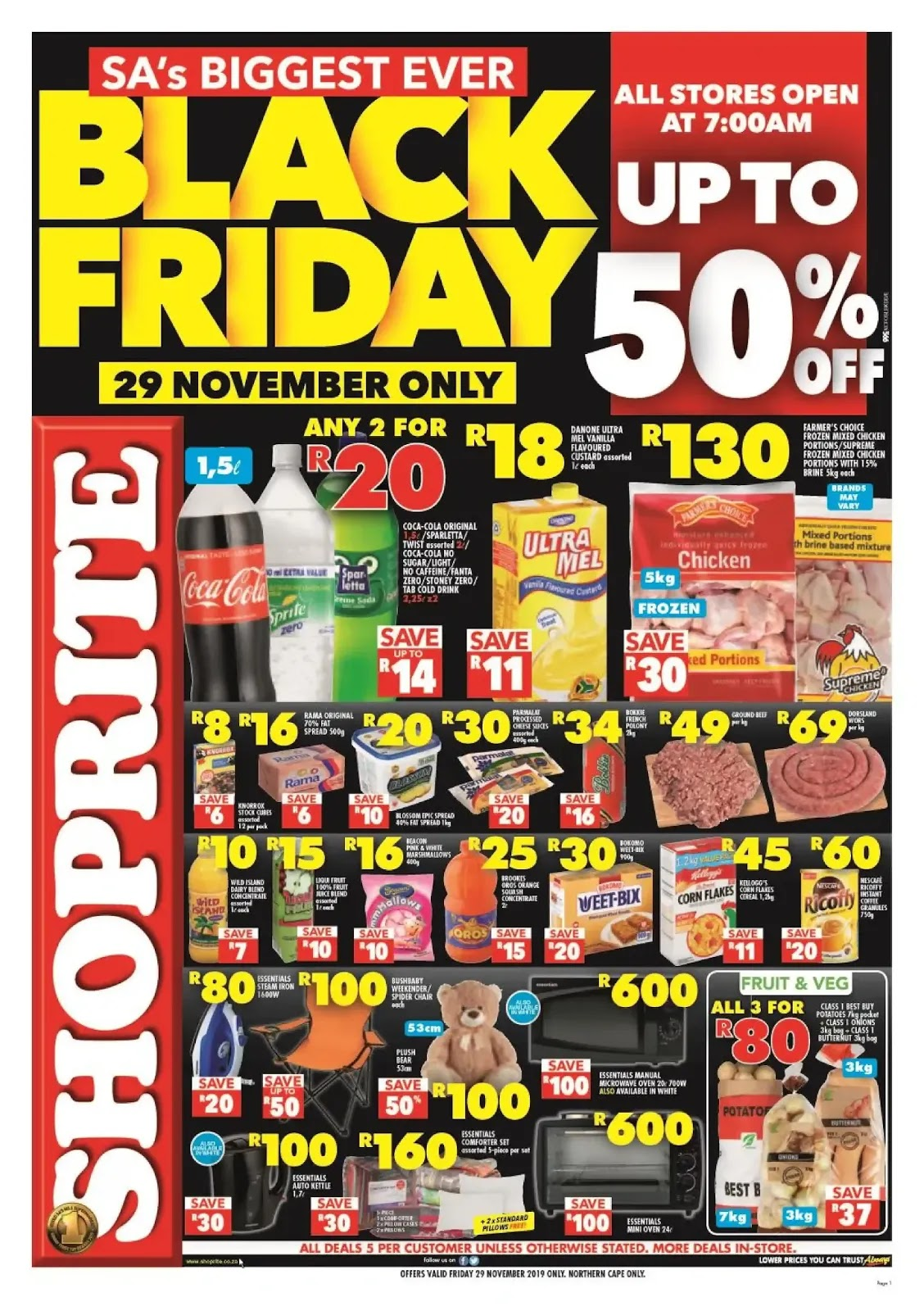 Shoprite Black Friday deals - Northern Cape & Free State