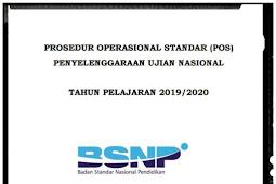 Download POS UN 2020 pdf dari BSNP (Lengkap SMP/MTs SMA/MA SMK/MAK)
