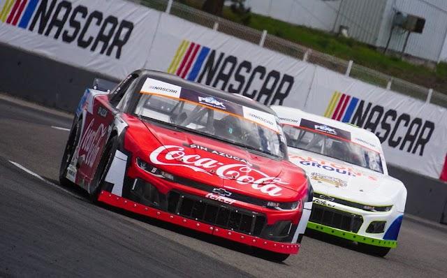 RUBÉN PARDO SE COLOCA EN EL TOP 10 DE LA SEGUNDA FECHA DE  NASCAR PEAK MEXICO SERIES 2021.