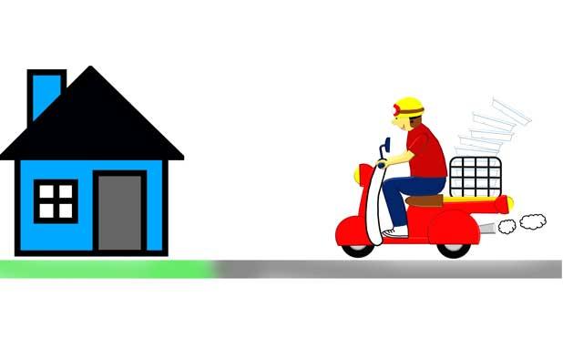 आर्डर किया गया Online Saman आपके घर तक कैसे पहुंचता है?