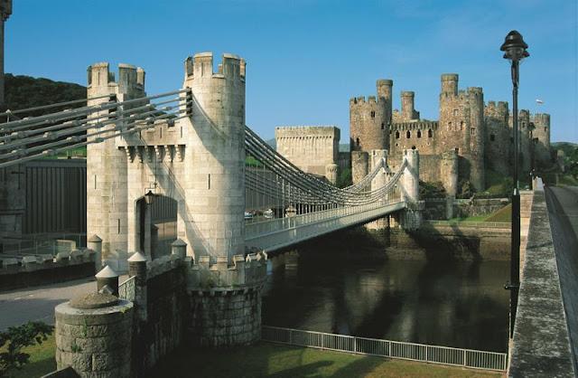 Conwy: il ponte di Thomas Telford