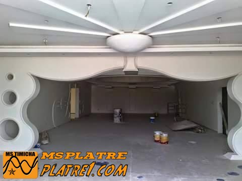 Une moderne arc de 2015 en platre platre for Decoration plafond platre france