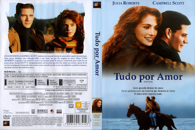 Capa DVD Tudo Por Amor