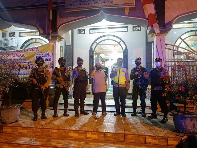 TNI Polri di Palangka Raya Gelar Patroli Gabungan, Pantau Situasi Malam Hari Raya Idul Fitri 1442 H