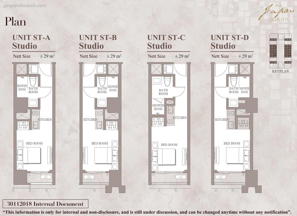Unit Studio Branz Mega Kuningan