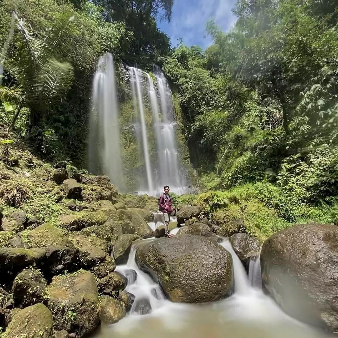 Air Terjun Curup Cengkaan Lampung Barat