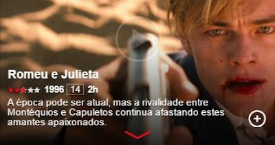 romeu e julieta letrologa netflix - 5 obras literárias adaptadas ao cinema e que estão no Netflix