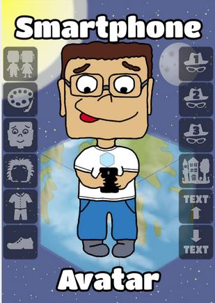 تطبيقات أندرويد لإنشاء شخصيتك الإلكترونية