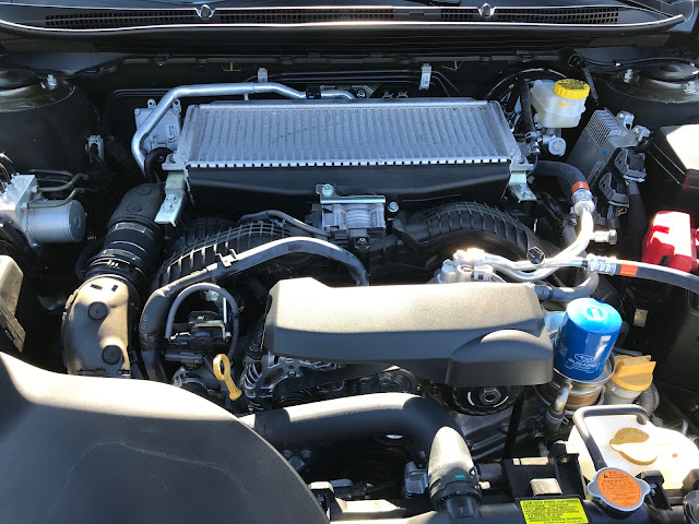 Engine in 2020 Subaru Outback Touring XT