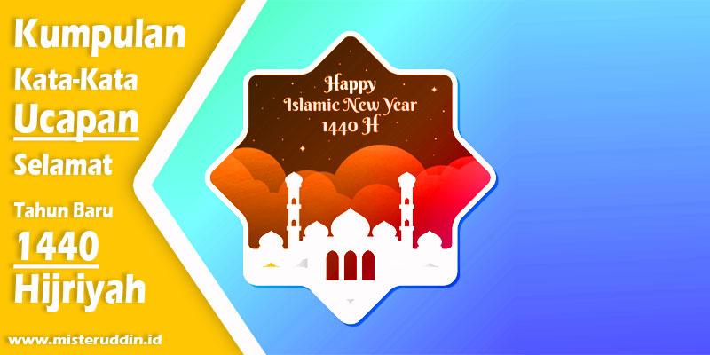 Kumpulan Ucapan Selamat Tahun Baru Islam 1 Muharram 1440 H Dalam