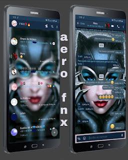 Cat Girl Theme For YOWhatsApp & Aero WhatsApp By Ave fénix