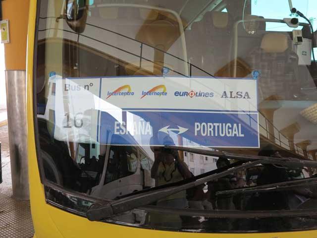 Spain - Portugal bus
