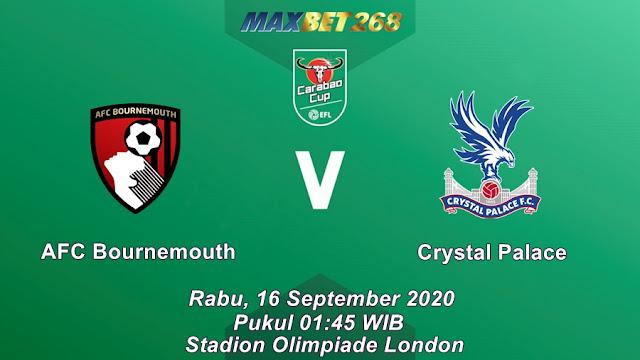 Prediksi AFC Bournemouth Vs Crystal Palace, Rabu 16 September 2020 Pukul 01.45 WIB