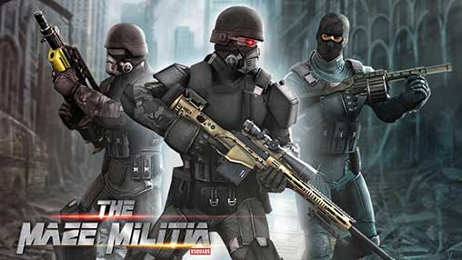 تحميل MazeMilitia LAN Online Multiplayer Shooting Game مهكرة