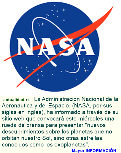 NASA, rueda de prensa inesperada sobre descubrimiento fuera del Sistema Solar