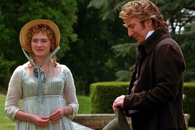 Alan Rickman nei panni del Colonnello Brandon con Kate Winslet | Alan Rickman migliore attore britannico di sempre