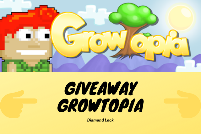 Giveaway Diamond Lock Growtopia