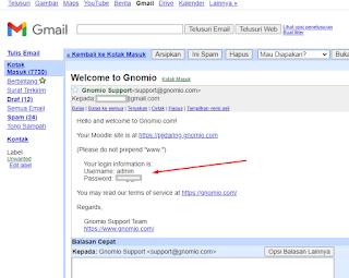 email akun gnomio