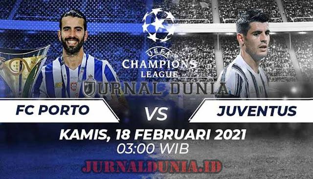 Prediksi Porto Vs Juventus