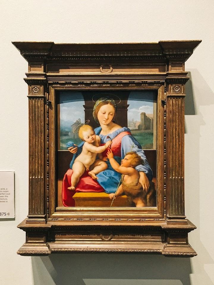 ガルヴァの聖母(The Garvagh Madonna)1509〜10年頃