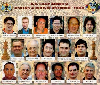 Equipo del C. C. Sant Andreu 2009