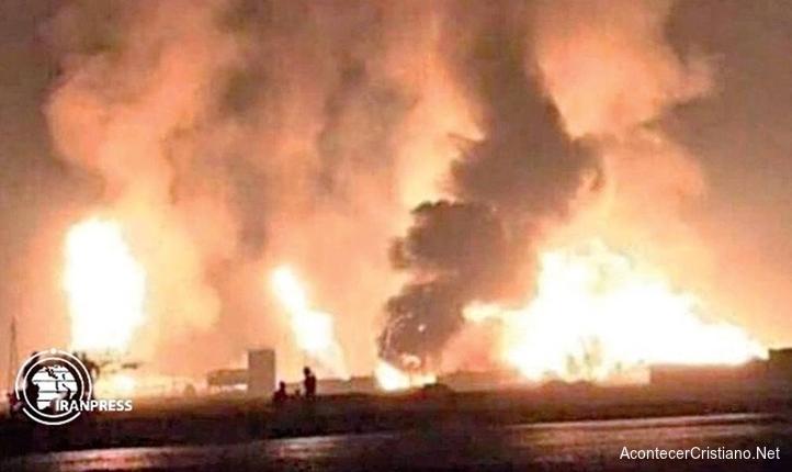 Iran ataca con misiles base estadounidense en Irak
