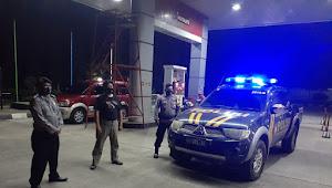 Guna Menjaga Kamtibmas Malam Kondusif, Personil Gabungan Polsek Paseh Polresta Bandung Patroli KRYD