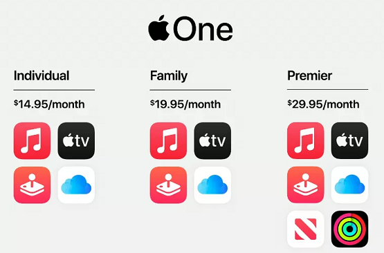 Apple Launches Apple One Subscription Services