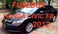 fusebox HONDA CIVIC FB 2012