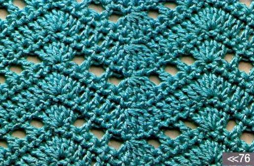 Patrón 948 Punto Calado a Crochet