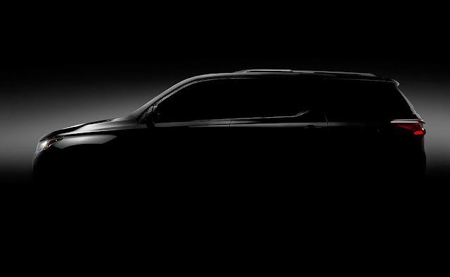 Novo GM Transverse: estreia no Salão de Detroit em janeiro