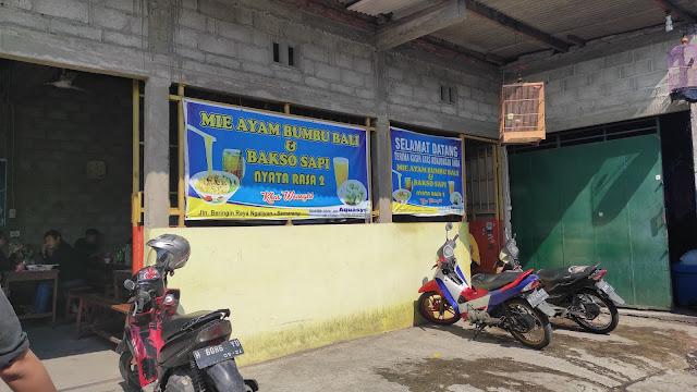 Lokasi Mi Ayam Bumbu Bali