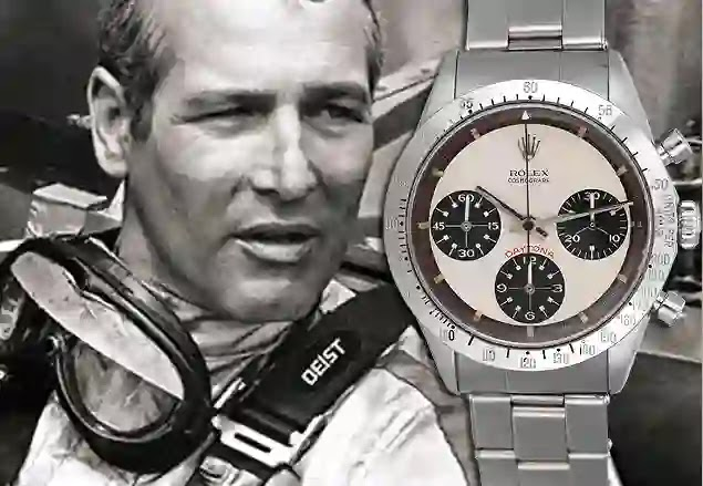 The Eric Clapton 1971 Rolex Daytona