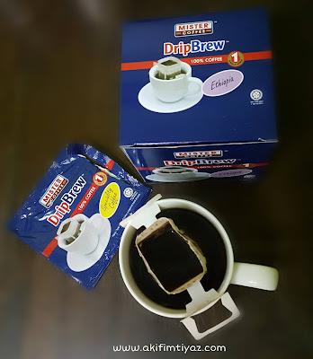 DripBrew Ethiopia Mister Coffee