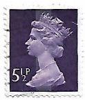 Selo Rainha Elizabeth II, 5½ P