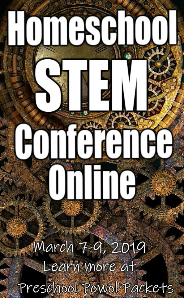 I'll be speaking at the 2019 Homeschool STEM Conference Online!