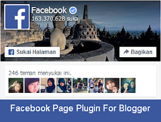 Cara Memasang Widget Facebook di Blog
